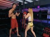 El entrenador de boxeo pilla cacho con esta rubia, uuuf! - Xhamster