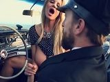 Kelly Madison disfruta del sexo con su amante en el coche - Xvideos