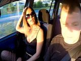 Bestial follada en el coche a una prostituta MILF guarrona
