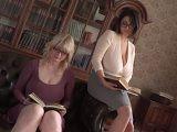 Dos mujeres tetonas disfrutando de sus grandes ubres  - Tetas Grandes