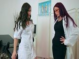 Nekane y Monique Alexander follando en el hospital - Lesbianas