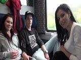 Que locura, hacen una orgía en un vagón del tren