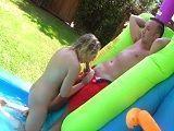 Kagney Linn Karter follando en la fiesta de su hijastro - Actrices Porno