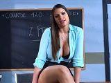 Joder con la profesora, como zorrea con su nuevo alumno - Pornhub